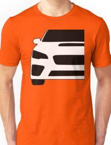 2015+ Subaru WRX STI Full Front with Corner Edge Cut Sticker / Decal Unisex T-Shirt
