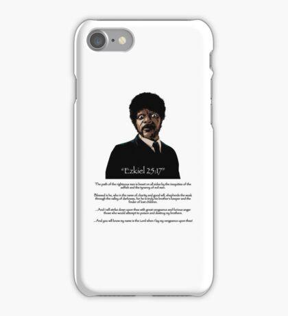 Samuel Jackson - Ezekiel Speech Variant iPhone Case/Skin