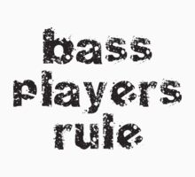 Bassists Rule - Guitar Band Tee One Piece - Short Sleeve