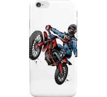 Motocross Dirt Bike iPhone Case/Skin