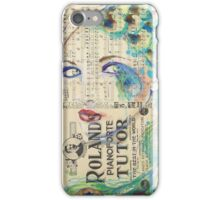 Peacock Passion iPhone Case/Skin