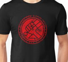 BPRD red texture icon Unisex T-Shirt