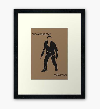 Merle Framed Print