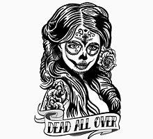 Day Of The Dead Girl 3 Illustration Men's Baseball ¾ T-Shirt