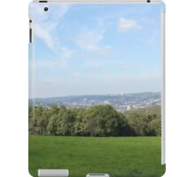 Scenic View over Wuppertal iPad Case/Skin