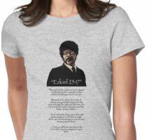 Samuel Jackson - Ezekiel Speech Variant Two Womens Fitted T-Shirt