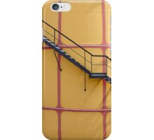 Stairs On A Yellow Silo iPhone Case/Skin