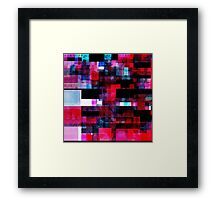 Deep Glitch n.2 Framed Print