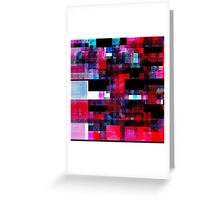Deep Glitch n.2 Greeting Card