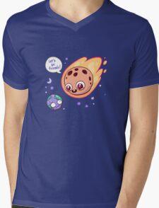 Let's be friends! Mens V-Neck T-Shirt
