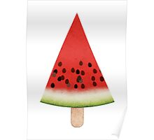 Watermelon on a Stick Poster