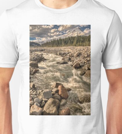 The Hood In The Distance - A Portrait In HDR © Unisex T-Shirt