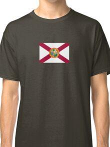 Miami - State Flag of Florida Car Sticker Classic T-Shirt