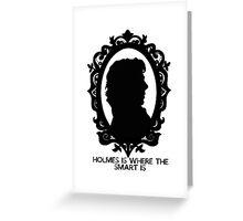 BBC Sherlock Holmes Cameo Greeting Card