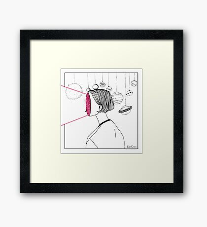 Space Sight Framed Print