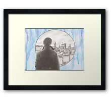 Sherlock's London Framed Print