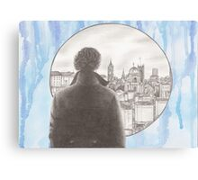 Sherlock's London Canvas Print
