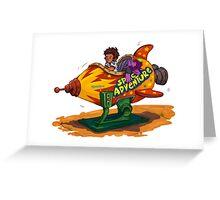 PAWU PAWU Greeting Card