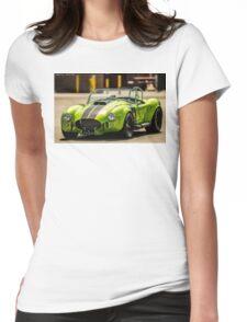 Green Cobra Womens Fitted T-Shirt