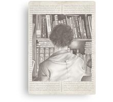 The Consulting Detective Canvas Print