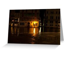 Near the Rialto Bridge, Venice, Italy Greeting Card