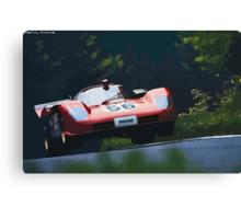 Ferrari 512S at Nürburgring Canvas Print