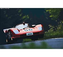 Ferrari 512S at Nürburgring Photographic Print