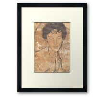 Sherlock's Mind Palace Framed Print
