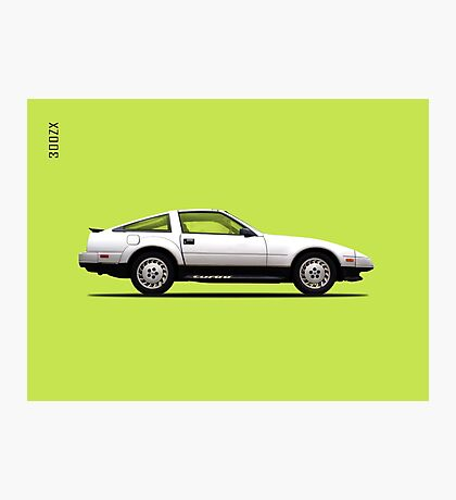 The 300ZX 1984 Photographic Print