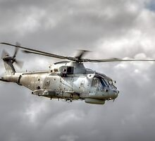 Royal Navy Merlin by © Steve H Clark