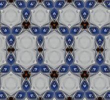 Passion Blue by PatternedArt
