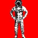 Astronaut in a diving helmet by monsterplanet