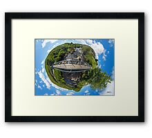 Footbridge over Glen River, Carrick, SW Donegal Framed Print