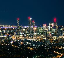 Brisbane Night by Natashia Lee