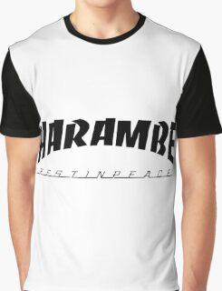 Harambe Thrasher 2016 Graphic T-Shirt