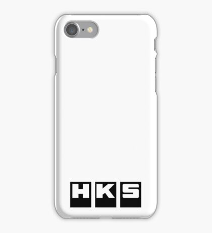HKS Factory Black iPhone Case/Skin
