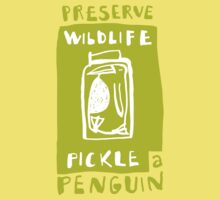 Pickle a Penguin Kids Tee
