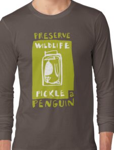 Pickle a Penguin Long Sleeve T-Shirt