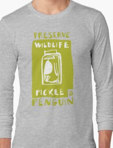 Pickle a Penguin Long Sleeve T-Shirt