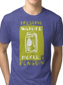 Pickle a Penguin Tri-blend T-Shirt