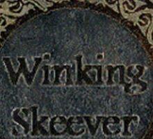 Skyrim- The Winking Skeever Bar Staff Sticker
