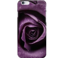 Purple Rose V iPhone Case/Skin