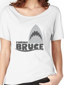 Finding Bruce (Finding Dory inspired horror) Women's Relaxed Fit T-Shirt