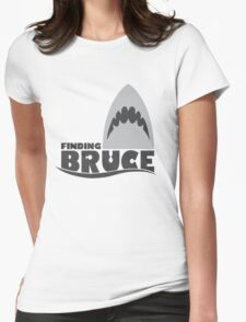Finding Bruce (Finding Dory inspired horror) Womens Fitted T-Shirt