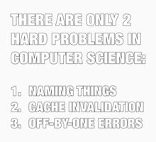 Only 2 hard problems in computer science Kids Clothes