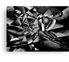 The Models: Black & white Canvas Print