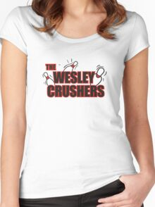 Wesley Crushers Women's Fitted Scoop T-Shirt