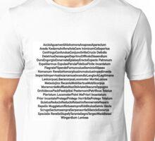 All Harry Potter Spells Unisex T-Shirt