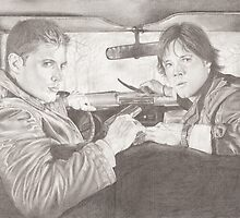 The Winchester Brothers by Jade Jones