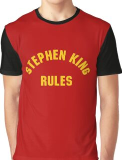 Stephen King Rules Graphic T-Shirt